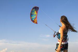 Kitesurfing udstyr